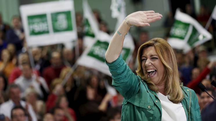Elezioni in Spagna: vince la leader del Psoe Susana Diaz