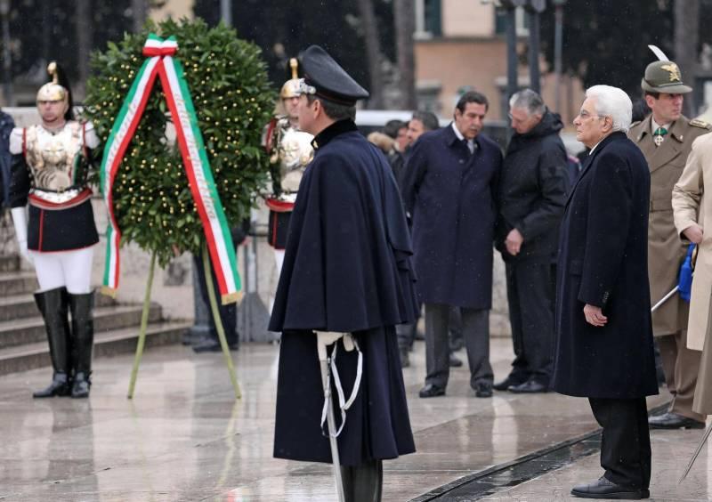 Mattarella celebra il 154esimo anniversario dell'Unità d'Italia