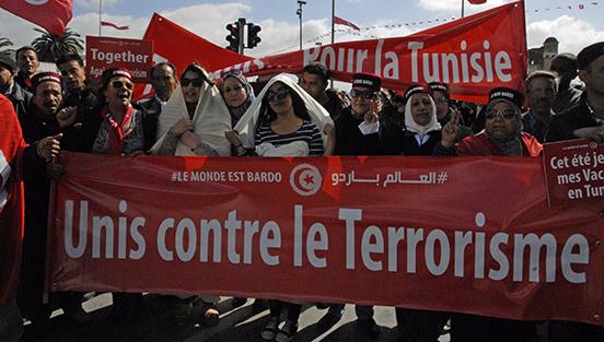 A Tunisi marcia internazionale contro il terrorismo