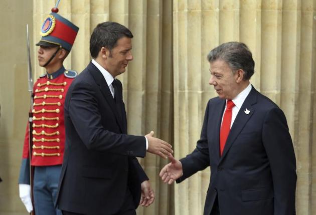 Renzi in America Latina. Oggi è in Colombia