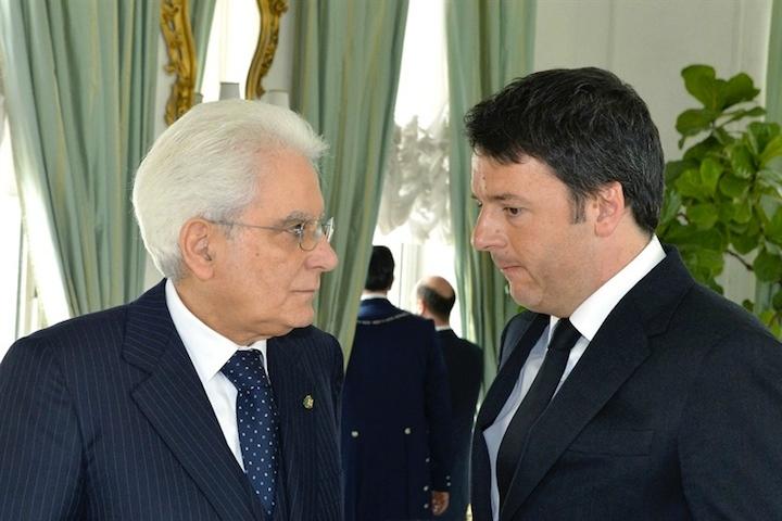 Renzi sale al Colle per il Consiglio Eu