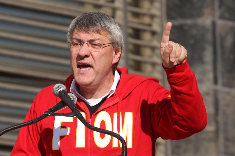 """Landini: """"Pronto ad occupare le fabbriche per difendere il lavoro"""""""