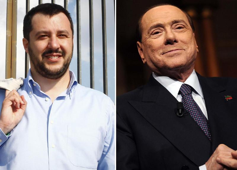 """Incontro Salvini-Berlusconi: """"Piena sintonia su tutto"""""""