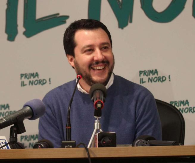 """Salvini: """"Finalmente un'opposizione compatta"""""""