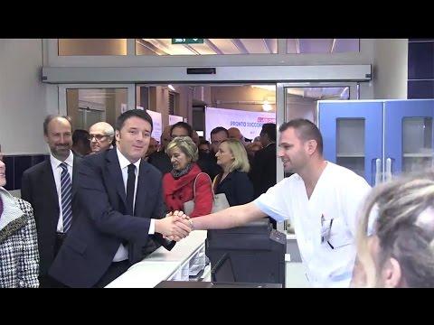 """Renzi: """"Non ci lasceremo prendere dalla paura"""""""