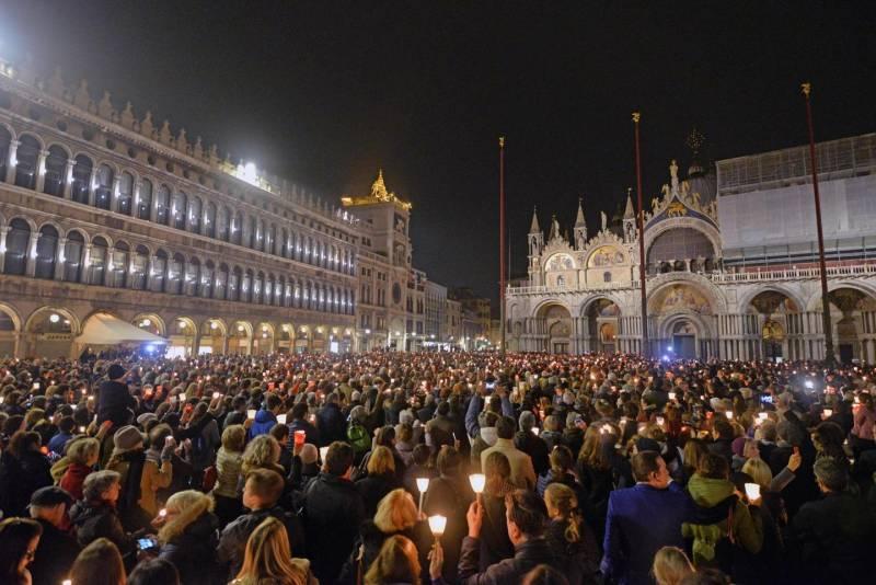 A Venezia in 7mila per Valeria
