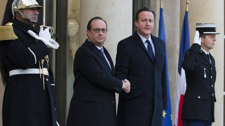 Vertice Hollande-Cameron a Parigi