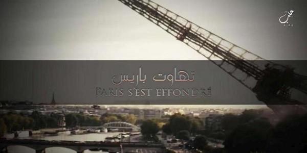 Nuove minacce dell'Isis: crolla la Tour Eiffel