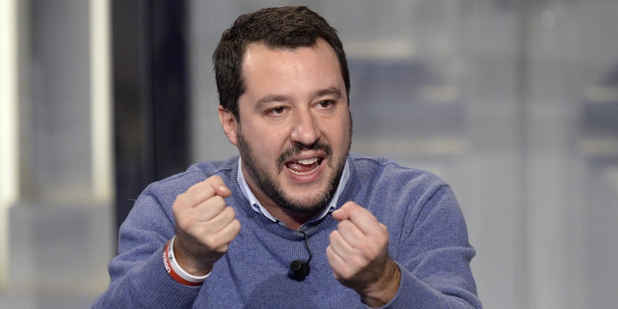 Salvini non sostiene chi è con Renzi