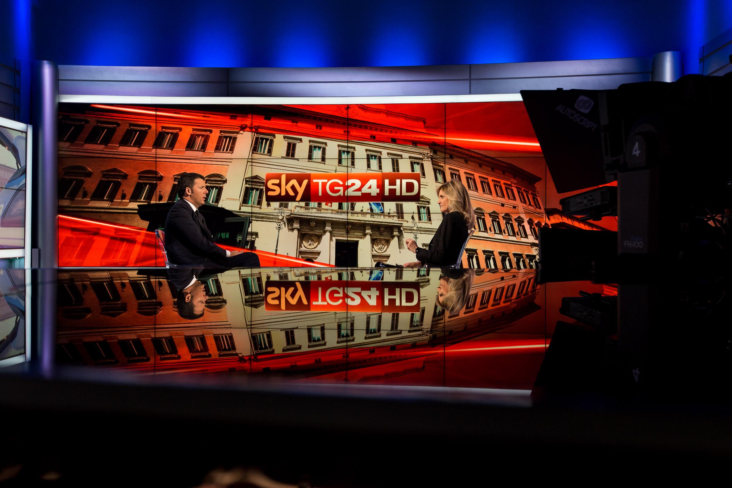 Terrorismo. L'intervista a Renzi su Sky Tg24