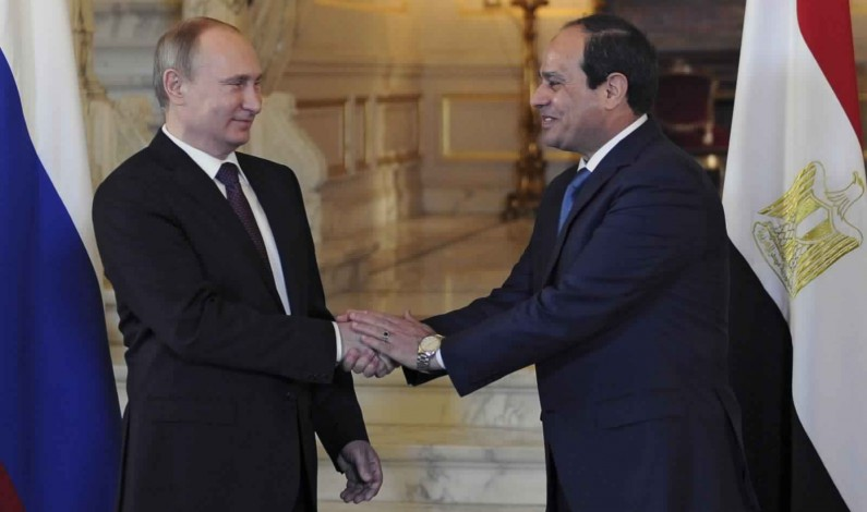 Accordo Russia-Egitto per una centrale nucleare