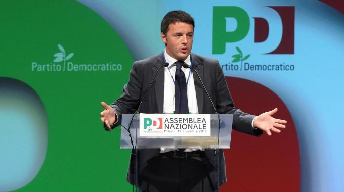 """Assemblea Pd. Renzi: """"Pronto alla fiducia"""""""