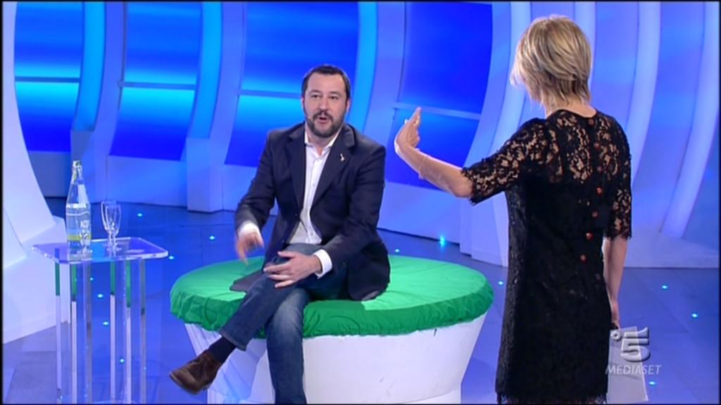 """Per Salvini sabato """"C'è posta per te"""""""