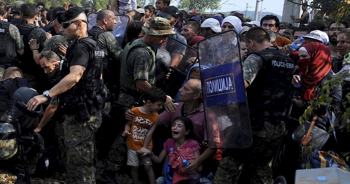 Migranti. Macedonia: in 4 ore passano in 170