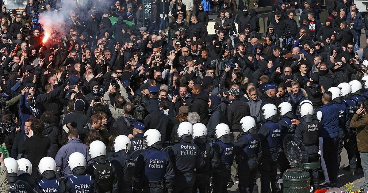 """Bruxelles. Annullata la """"marcia contro la paura"""""""