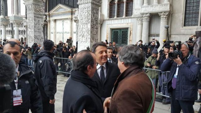Oggi a Venezia vertice Italia-Francia