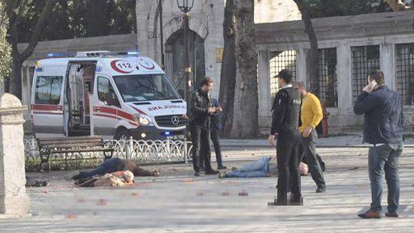 Kamikaze a Istanbul.  L'obiettivo era un altro