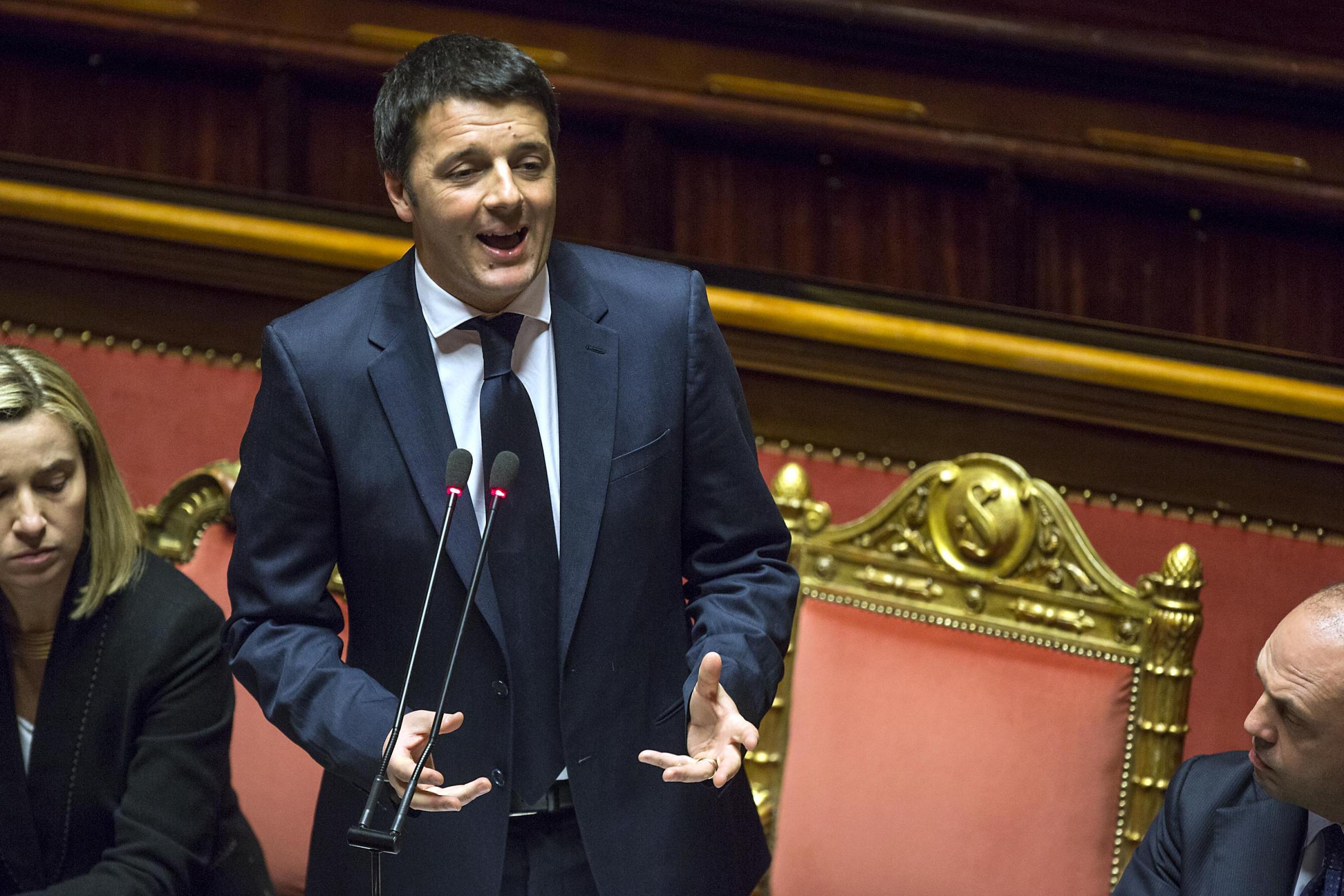 """Consiglio europeo. Renzi: """"Il terzo in un mese"""""""