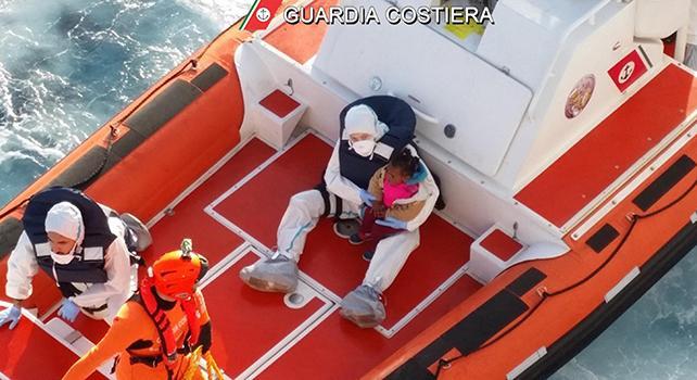 Egeo. Pediatri a bordo delle motovedette