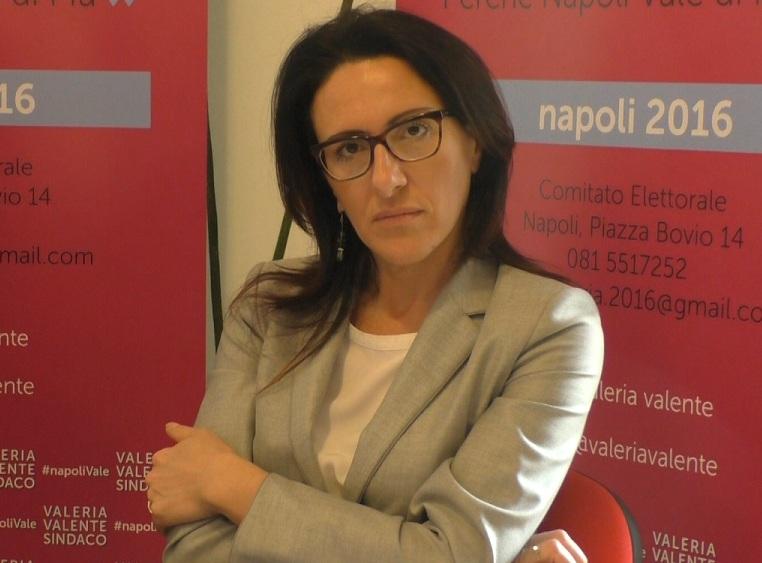 Anche Valeria Valente presenta un ricorso