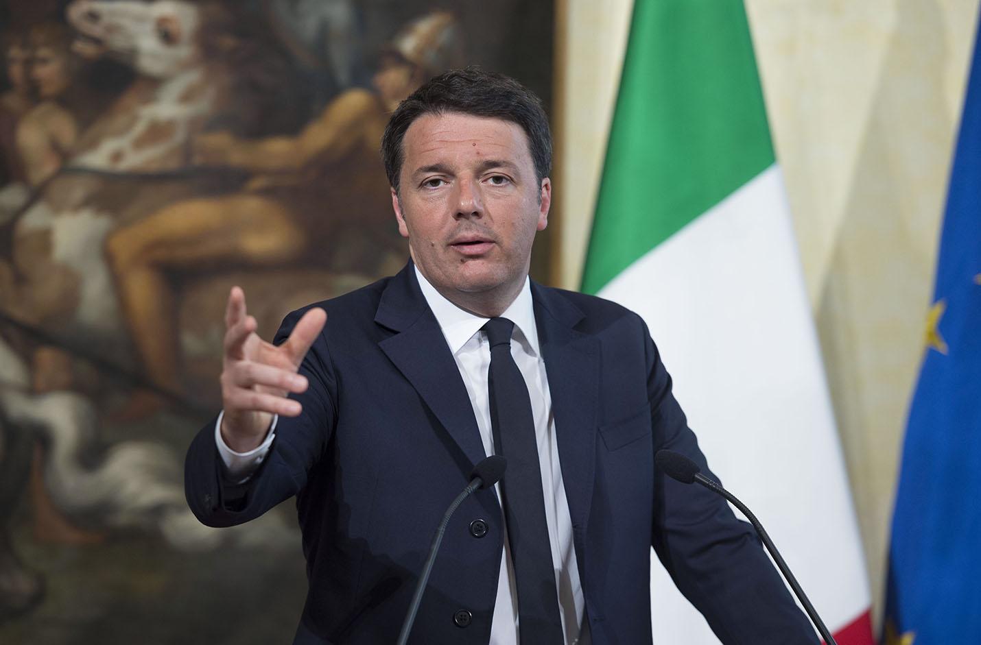"Renzi: ""Al via la banda larga in 224 città"""