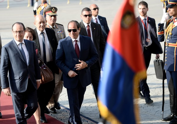 """Al Sisi: """"Abbiamo una visione diversa sui diritti umani"""""""