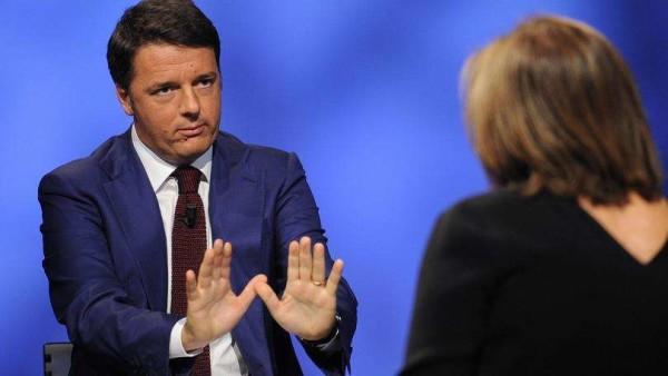 """Renzi: """" Quell'emendamento """"è roba mia"""""""