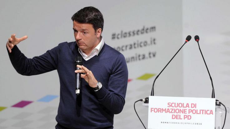 """Renzi: """"Meglio Marchionne di certi sindacalisti"""""""