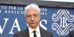 26/06/2013 Roma, relazione annuale dell'IVASS, nella foto il direttore generale della Banca D'Italia Salvatore Rossi