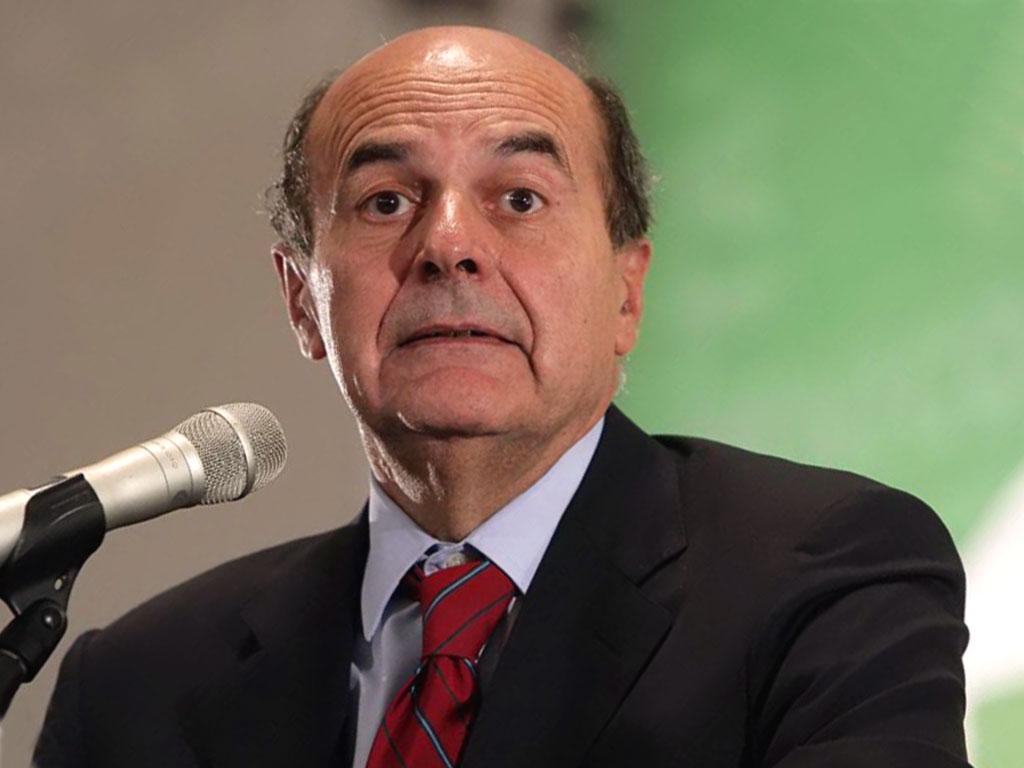 """Bersani: """"Il Pd è di sinistra? Lo è poco"""""""